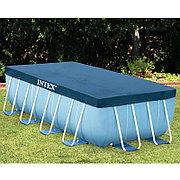 Тент для прямоугольных каркасных бассейнов 400x200 см, Intex 28037
