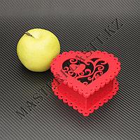 """Подарочная коробка - """"Сердце"""" из акрила, фото 1"""