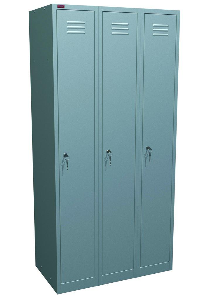 Шкаф для одежды металлический ШРМ - 33