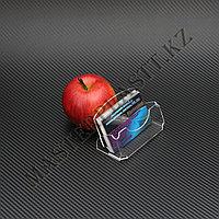 Визитница Элегант, акрил. Подставка под визитки, Алматы, фото 1