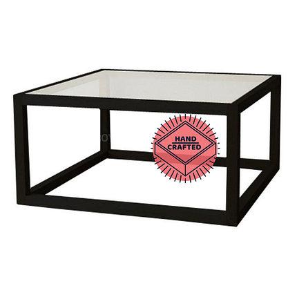 Кофейный столик со стеклянной столешницей, фото 2