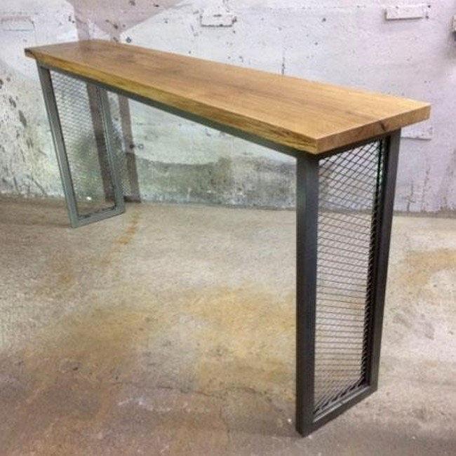 Барный стол на металлическом основании , фото 2