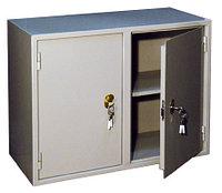 Металлический бухгалтерский шкаф КБ - 09 / КБС - 09