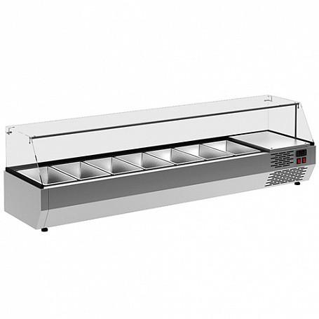 Витрина холодильная Carboma A40 SM 1,2-G 0430 (VT2v-G) (3 GN 1/3)