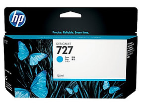 HP  Картридж  Cyan Ink Cartridge №727