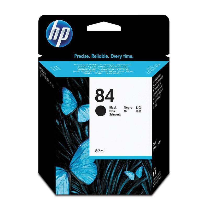 HP Печатающая головка Black Printhead №84
