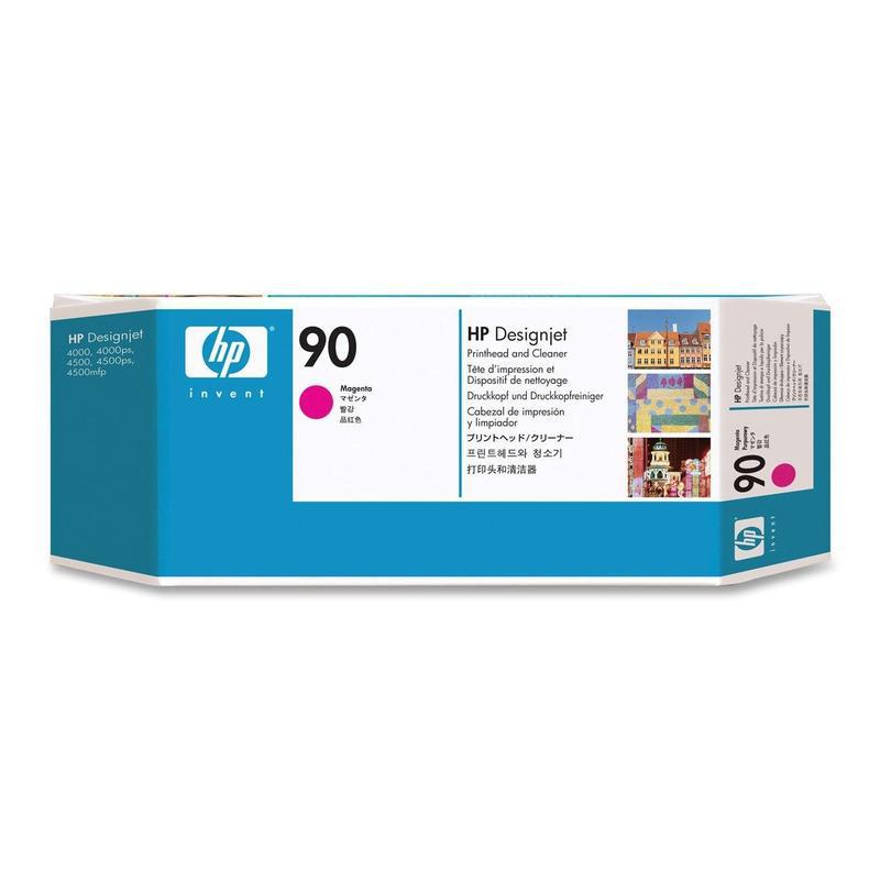 HP Печатающая головка Magenta Printhead and Printhead Cleaner №90