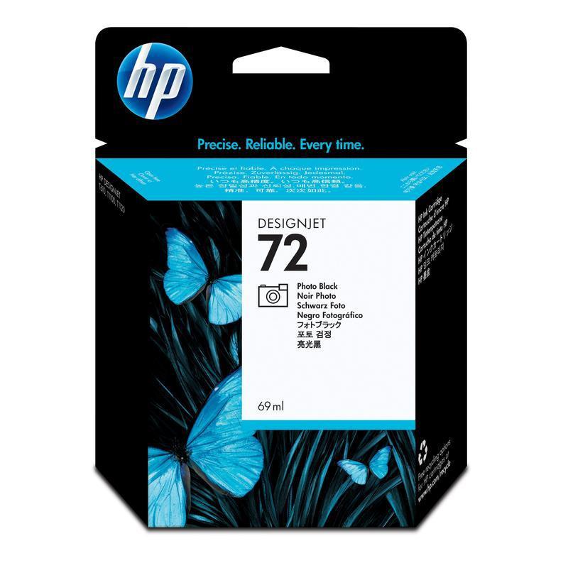 HP Photo Black Ink Cartridge №72