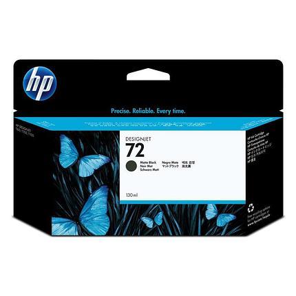 HP Matte Black Ink Cartridge Vivera №72, фото 2