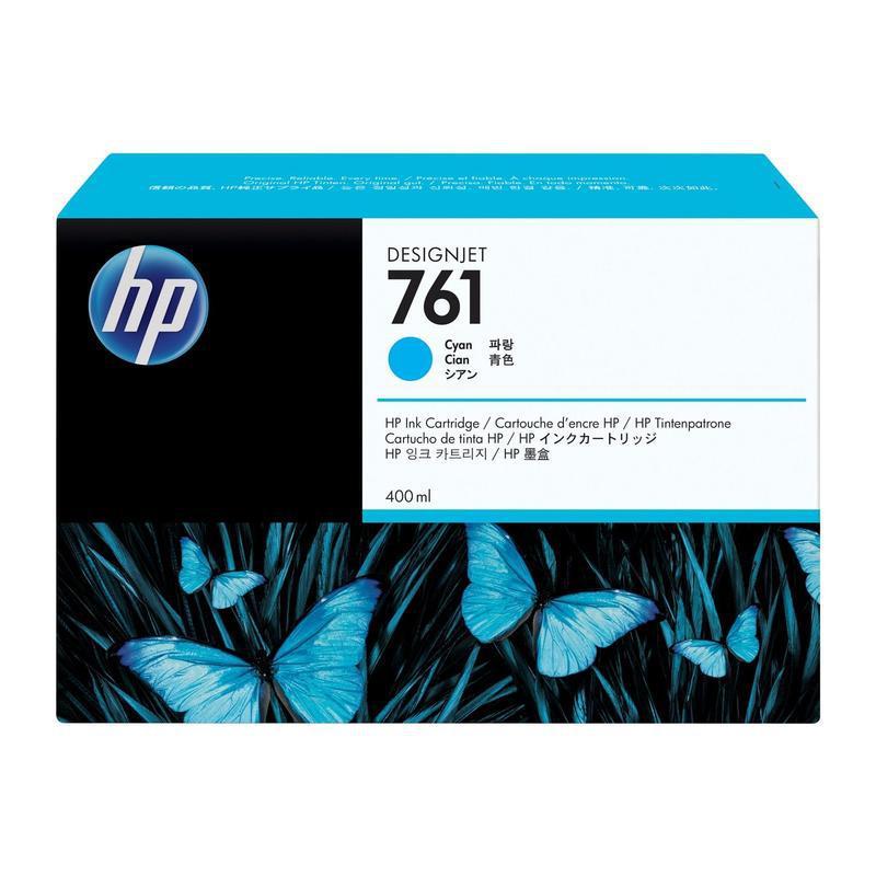 HP Cyan Ink Cartridge №761