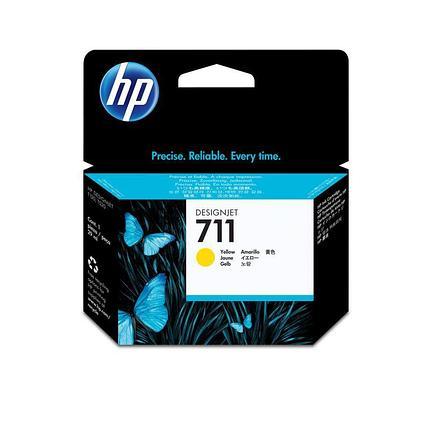 HP Yellow Ink Cartridge №711, фото 2