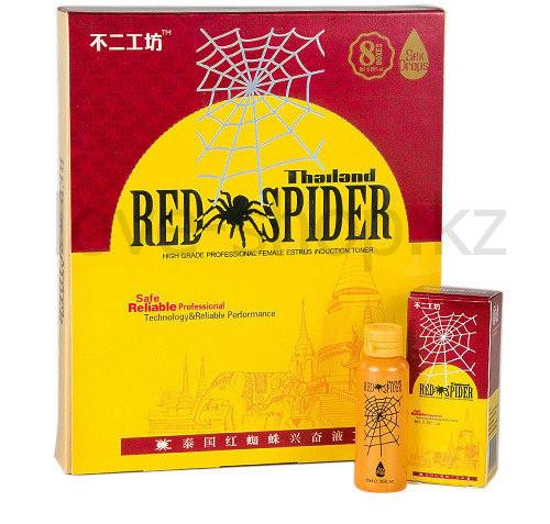 RED SPIDER - Женские капли для возбуждения - 8 шт