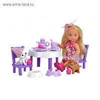 Кукла «Еви» с набором «День рождения питомцев»