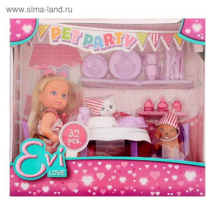 Кукла «Еви» с набором «День рождения питомцев» - фото 2