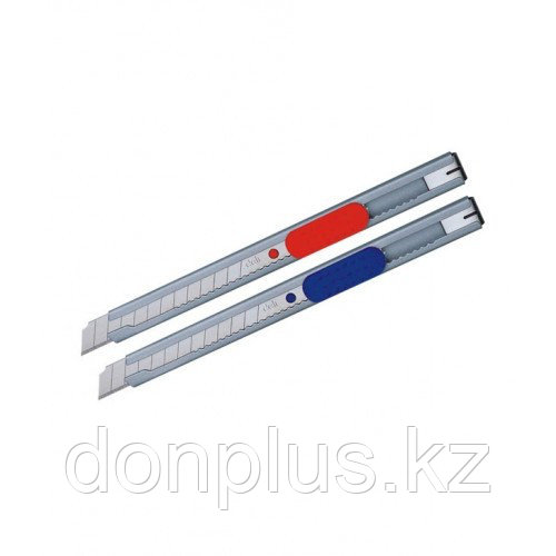 Нож канцелярский DELI, 9 мм, металлический корпус