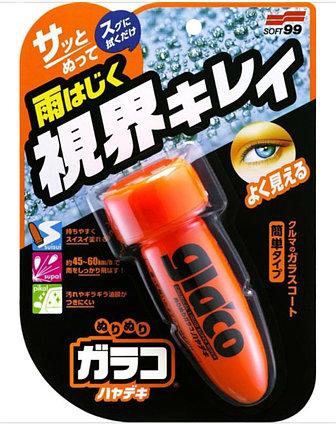 Водоотталкивающее покрытие для стёкол GLACO Roll On, SOFT99 (Япония)