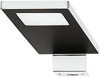 Светильник LED для влажных помещений .свет холодный , цвет хром 12 V, фото 1