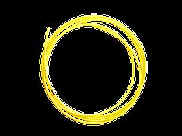 Канал направляющий 3,5м тефлон желтый (1,2-1,6мм)