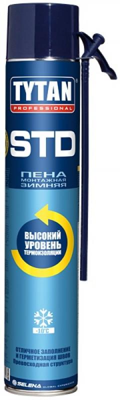 Зимняя Mонтажная Пена STD 750 мл бытовая