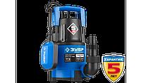 Насос погружной, ЗУБР Профессионал, дренажный для чистой воды (d частиц до 5мм), 750Вт, фото 1