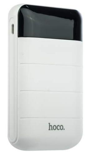 Дополнительный аккумулятор Hoco B29 Power Bank 10000 mAh (белый)