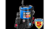 Насос Т7 АкваСенсор погружной, ЗУБР Профессионал НПЧ-Т7-550, дренажный для чистой воды, 550 Вт, фото 1