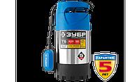 Насос Т5 погружной, ЗУБР Профессионал НПЧ-Т5-800-С, дренажный для чистой воды (d частиц до 5мм), 800Вт, фото 1