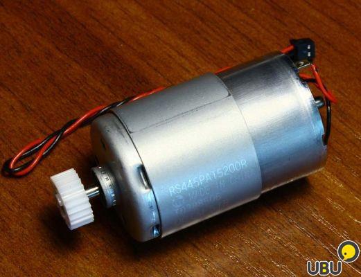 Двигатель подачи бумаги L800