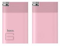 Дополнительный аккумулятор Hoco B30 Power Bank 8000 mAh (розовый)
