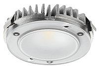 Светильник 12 В, Ø 65 мм, номинальный IP20, светодиод LED2025 12V/3,8W 3000K CRI 90 Alu., фото 1