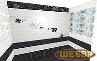Кафель черно-белая коллекция элементов