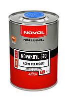 Двухкомпонентный бесцветный акриловый лак NOVAKRYL 570 2+1