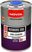 Двухкомпонентный бесцветный акриловый лак NOVAKRYL 590 2+1