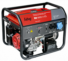 FUBAG Бензиновая электростанция с электростартером и коннектором автоматики BS 6600 A ES
