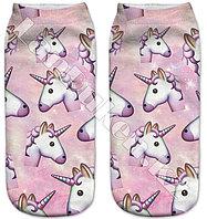 Детские носки единорог 28-32р (02)