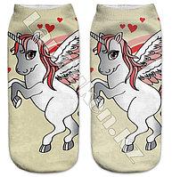 Детские носки единорог 28-32р (05)