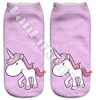 Детские носки единорог 28-32р (07)
