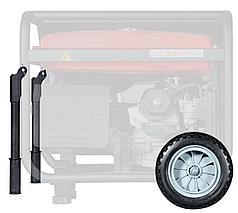 FUBAG Комплект колес и ручек для электростанций Fubag