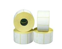 Этикетка PP белая (полипропилен) 58х40