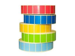 Этикетка PP цветная (полипропилен) 47х25
