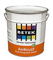 BETEK ANTIRUST  (СЕРАЯ  ) Высокоэфективная, антикорозийная, защитная грунтовка 0,75л
