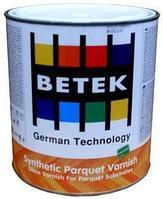 BETEK SYNTHETIC PARQUET VARNISH Паркетный лак Синтетический 2,5л