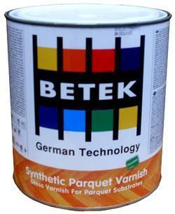BETEK SYNTHETIC PARQUET VARNISH Паркетный лак Синтетический 0,75