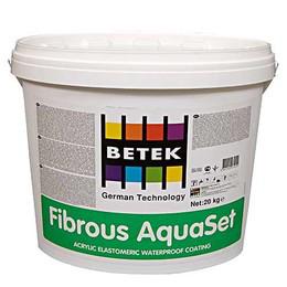 BETEK FIBRIOUS AQUASET Гидроизоляционное покрытие на акриловой основе для бассейнов 1кг