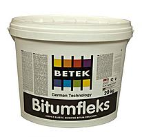 Гидроизоляционное покрытие на битумной основе BITUMFLEKS, 20кг