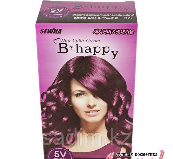 B Happy ( 5V ) - Краска для волос - Винно-Фиолетовый