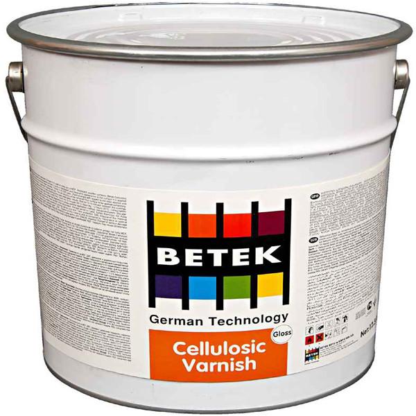 BETEK CELLULOSIC GLOSS VARNISH Глянцевый лак на целлюлозной основе, для мебельной промышленности 0,85кг