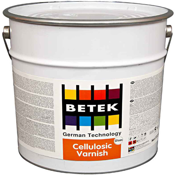 BETEK CELLULOSIC SILK MATT VARNISH 12кг