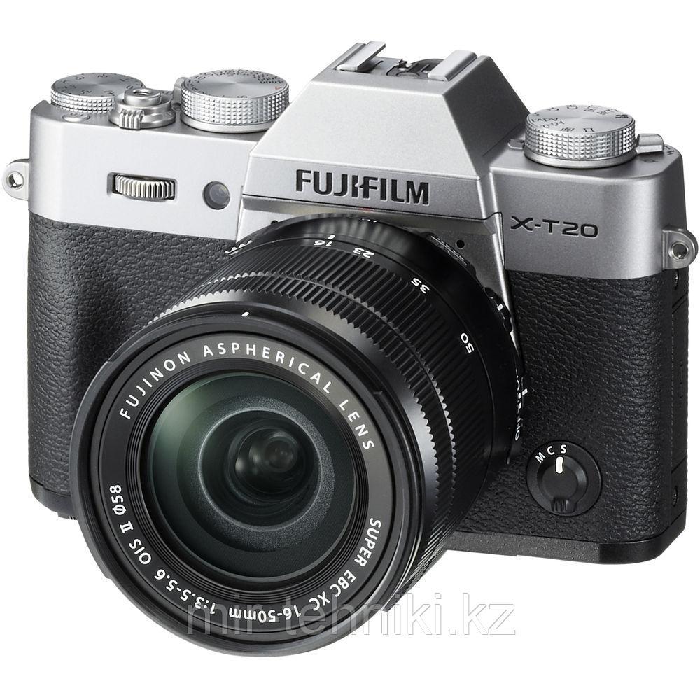 Fujifilm X-T20 kit (16-50mm f/3.5-5.6 OIS II) Silver