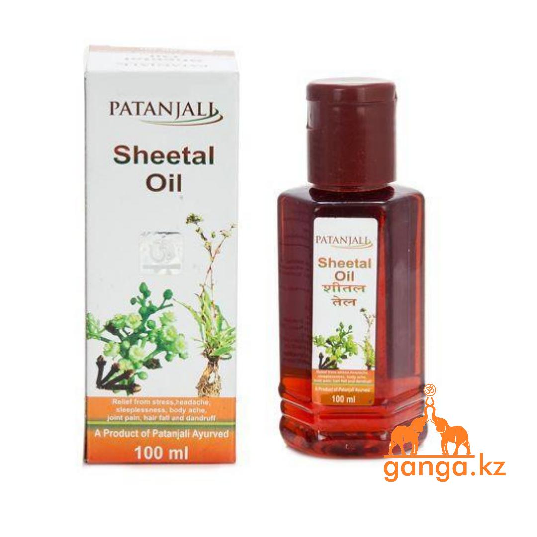 Охлаждающее масло для волос и тела Шитал (Sheetal Oil PATANJALI), 100 мл.